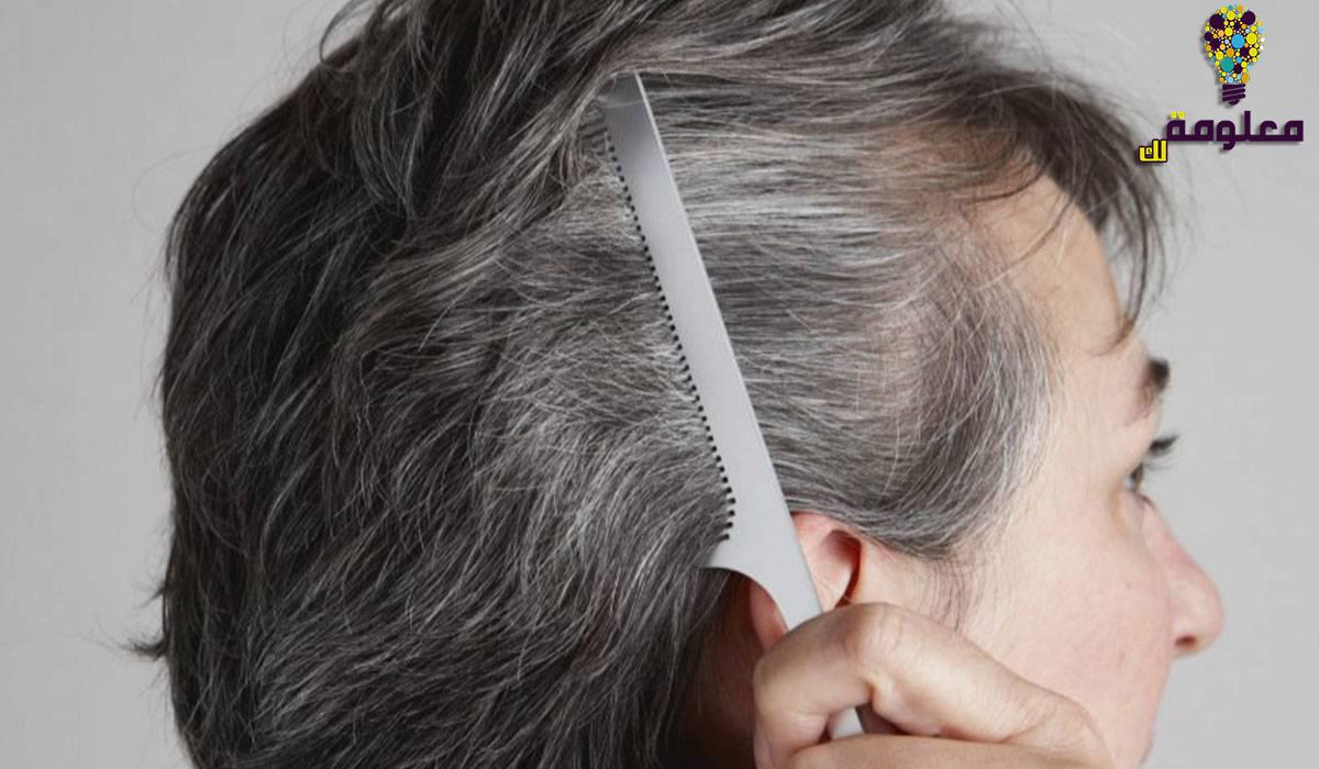 طرق علاج الشعر الابيض والتخلص منه نهائيًا