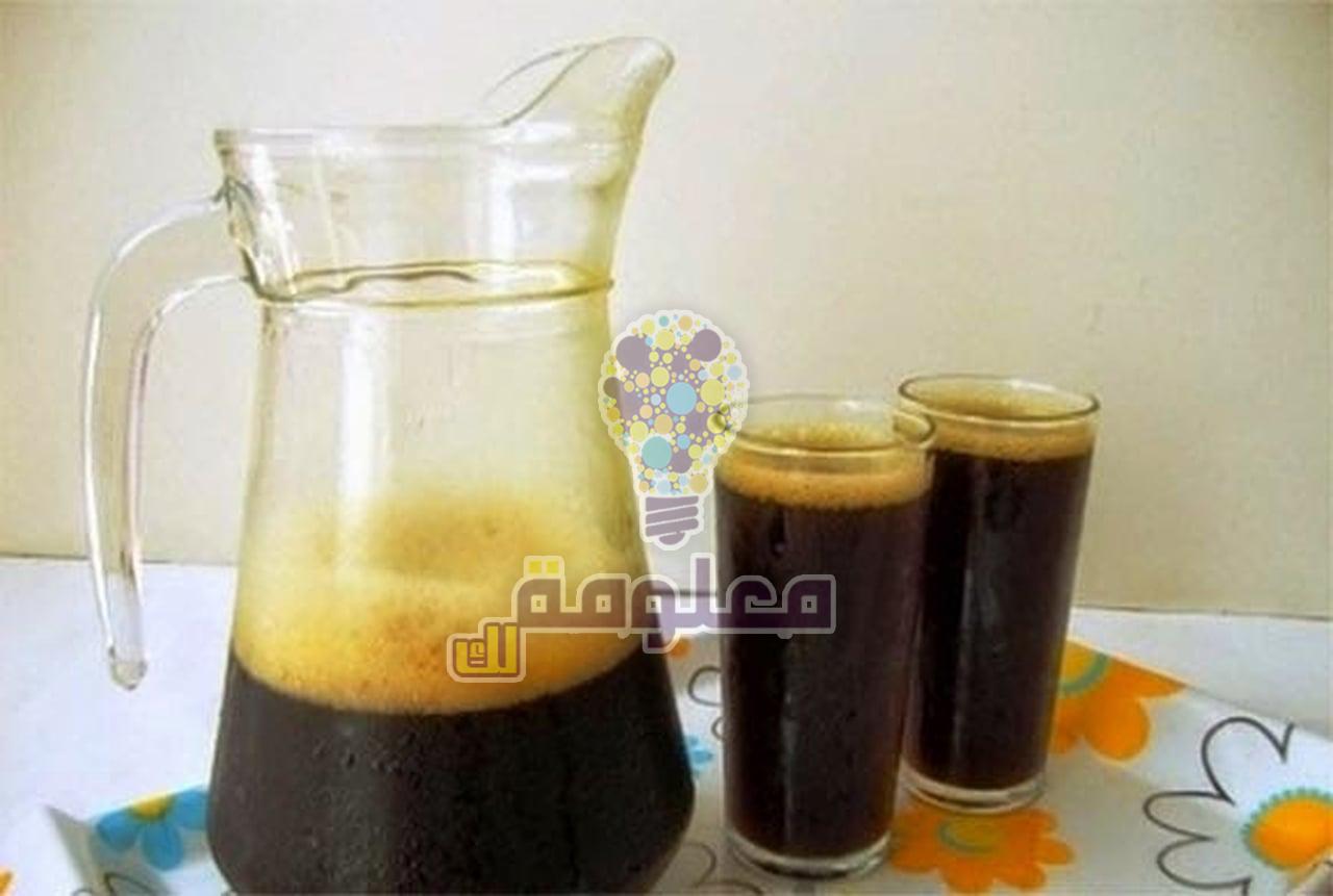 طريقة عمل مشروب عصير الخروب الطبيعي في المنزل
